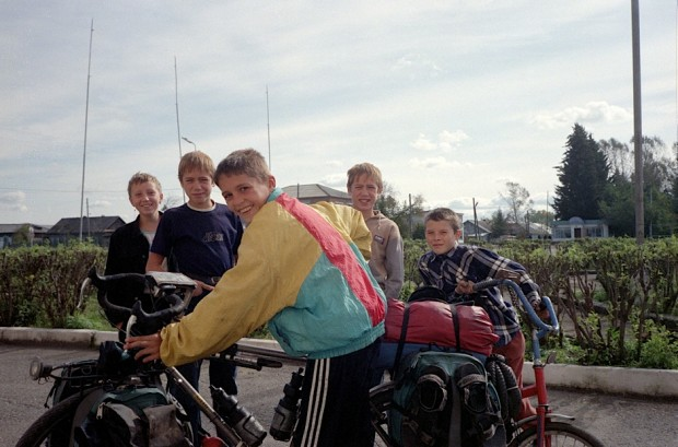 Russia by bicycle