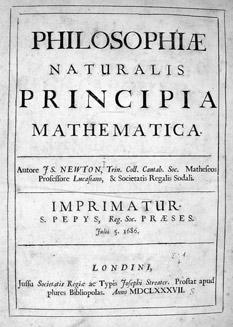 Newton Prinicipia