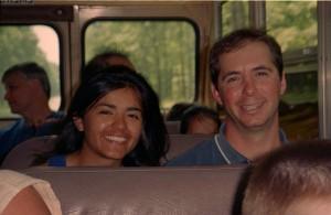 Maria & Mike, summer 2002