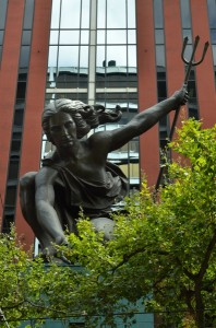 Portlandia is a sculpture by Raymond Kaskey. It is the second-largest copper repoussé statue in the United States, after the Statue of Liberty