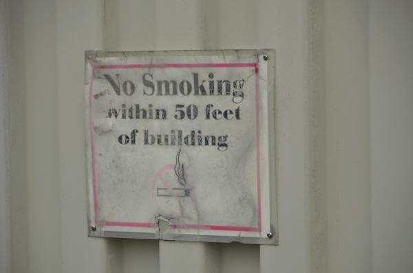 No Smoking in a Smokehouse?