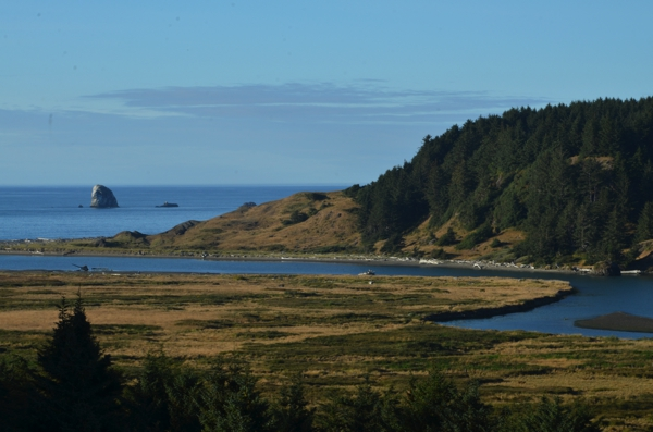 Valley below Cape Blanco State Park