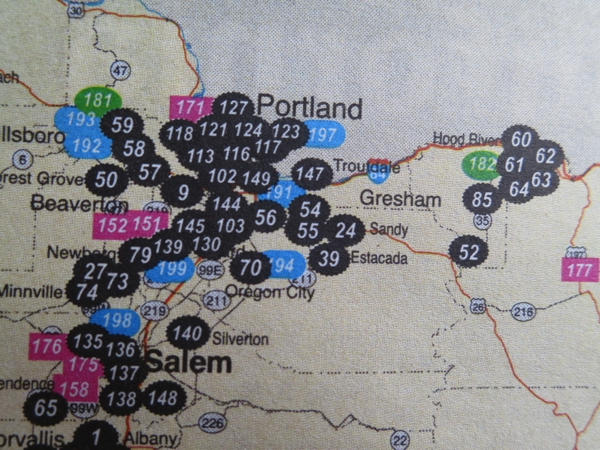 Portland Breweries…So many, so little time