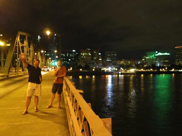 Portland by night.