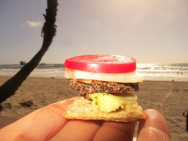 Snacks on the beach