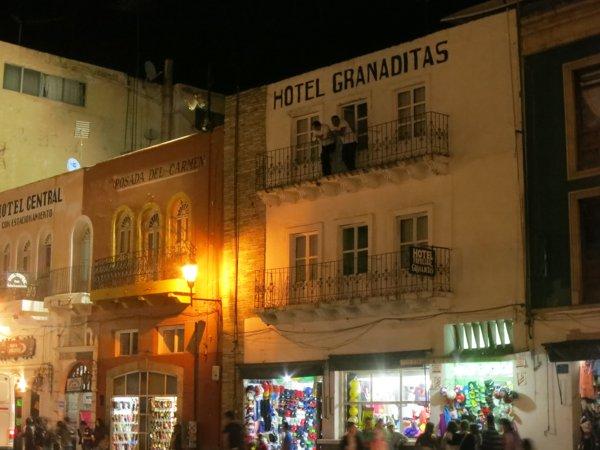 Our hotel: Hotel Granaditas