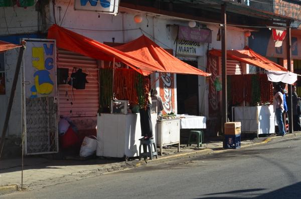 Sausage vendors