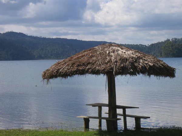 Lake Tziscao, our home for the past couple of days