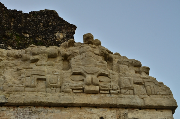 Temple II detail