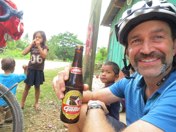 Cheers to you, Rich P for not only your donation but also helping weld on the kickstand plates which held up to a hoard of children climbing on the bikes