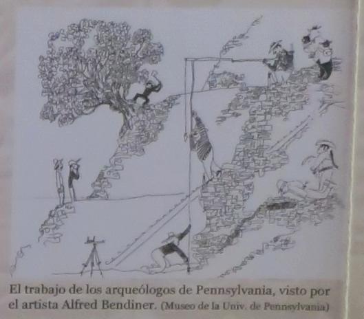 """Curious George and Waldo's Grandpa (of """"Where's Waldo?"""" fame) help Penn State archeologists loot Tikal"""