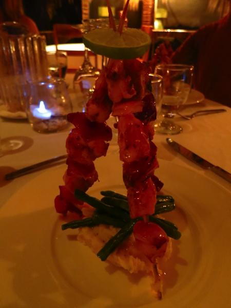 shrimp tipi