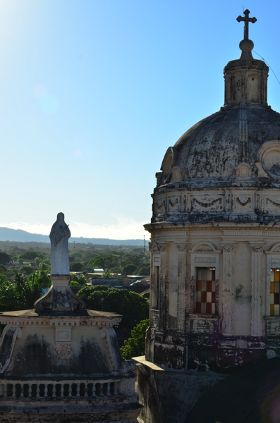 A view of La Merced from the bell tower