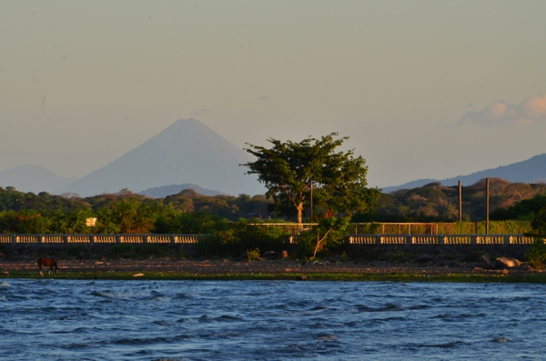 A view of Lake Nicaragua from Granada