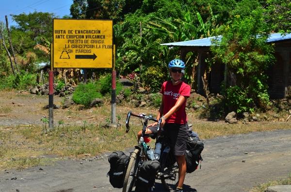 volcano eruption evacuation signs were prevalent