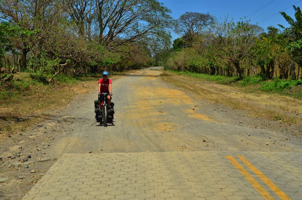 Some of the ring road around the island is not paved and is in rough condition.  In hindsight, this would have been a good place to rent motorcycles/scooters.