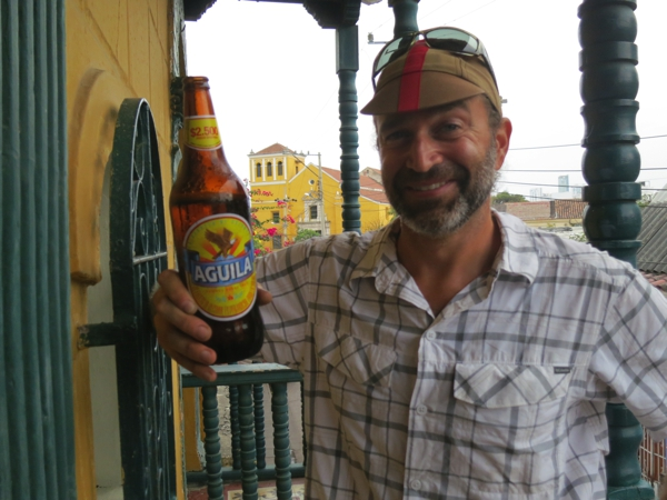 Cheers to !  Thanks for our Welcome to Colombia beers!