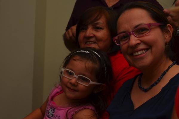 Sabrina, her mum, and daughter