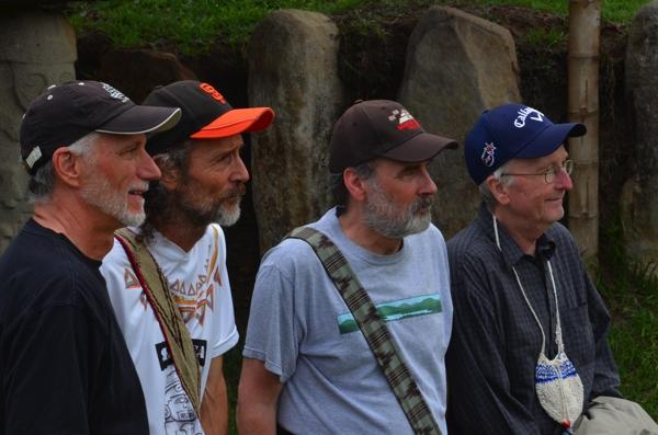 Ric, David, Rick and Dennis