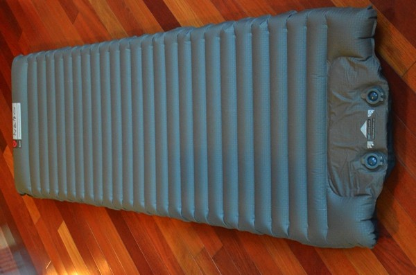An original Therm-a-Rest pad. Stats (approximate): L x W x T 72 x 20 x 1.5 inches ( 183 x 51 x 4.4 cm); Weight 2 lb 6 oz (1077g); rolled size W x T 21 x 6 inches (53 x 15 cm); R-value 5