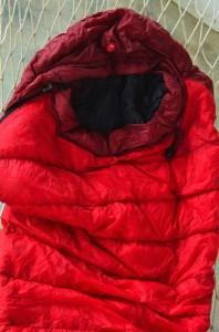 My Marmot Arete sleeping bag