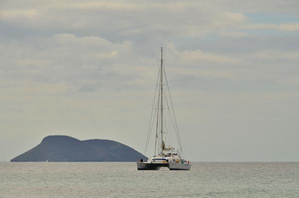 The Nemo III catamaran