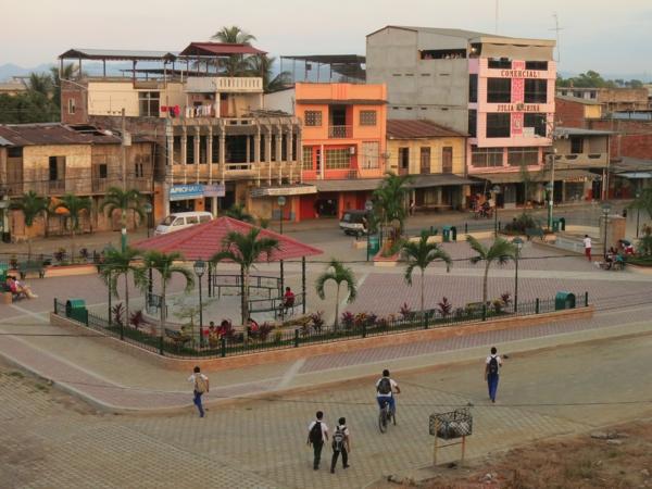 Tosagua town park