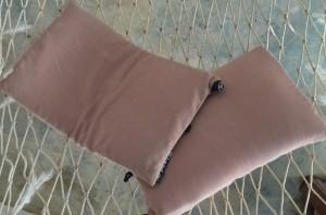 NEMO Fillo pillows relaxing on a hammock