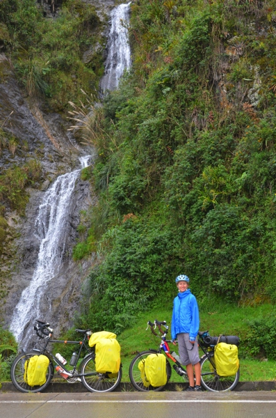 Three days of rain and our panniers are still dry - Thanks Arkel, for the new rain covers!