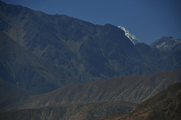 Our first peak of the Cordillera Blanca.