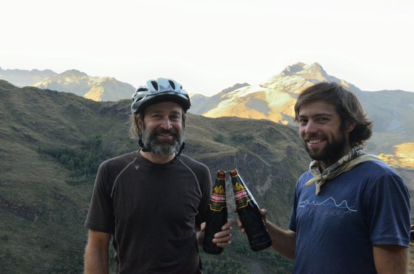 Cheers, Jim B.  Glad to have met you Villacabamba, Ecuador.  Thanks for the beer!  We really needed one after the day we had