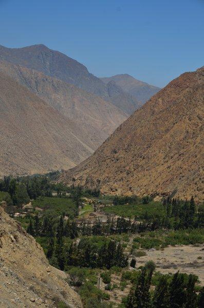 Fertile river valley.
