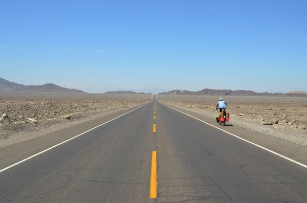 The road to Nazca.