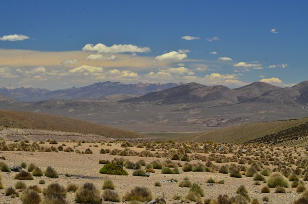 first view of Bolivia