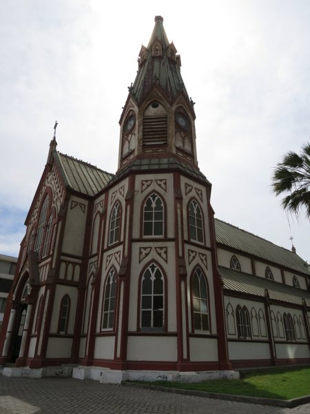 ���������� ����������Iglesia de San Marcos, constructed of iron