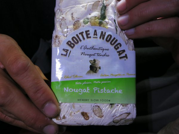 We are first-time tasters of the nougat - it's delicious!