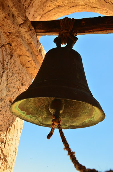 Bell in the church tower