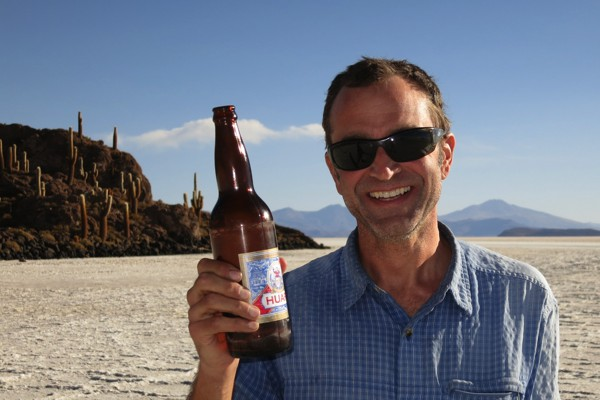 Thanks for the beer Ryan S.  Cheers to you.  Best of luck preparing for your own two-wheeled, pedal-powered adventure.