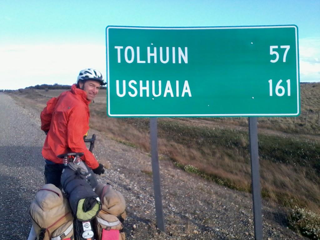 100 miles to Ushuaia!