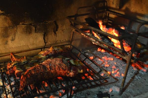 The asado.