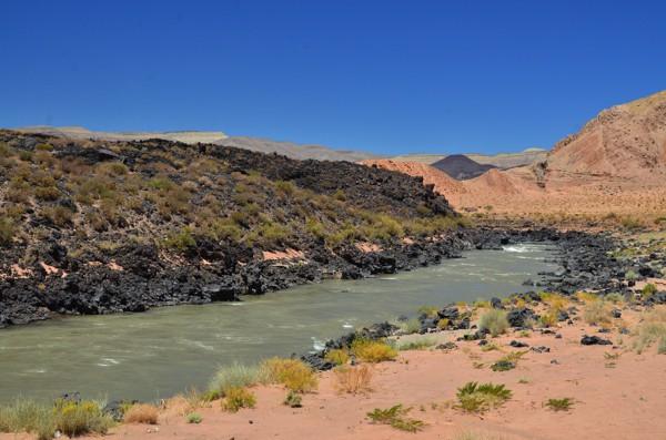 One last swim in the Rio Grande before the climb.