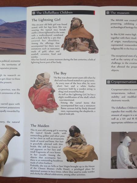 Description of the three children.