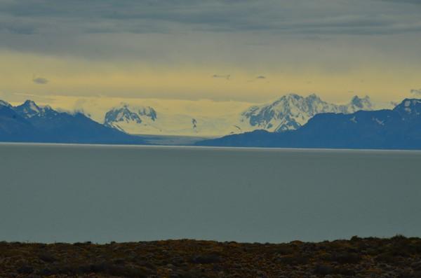 Massive glacier.