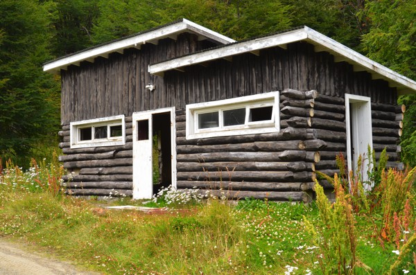 Surley, nothing evil happened in this old caretaker's log cabin