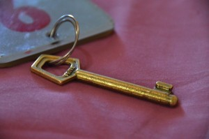 All the hotels we've stayed at in Argentina have these old-timey keys.