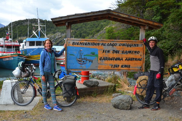 The end of the Carretera Austral.
