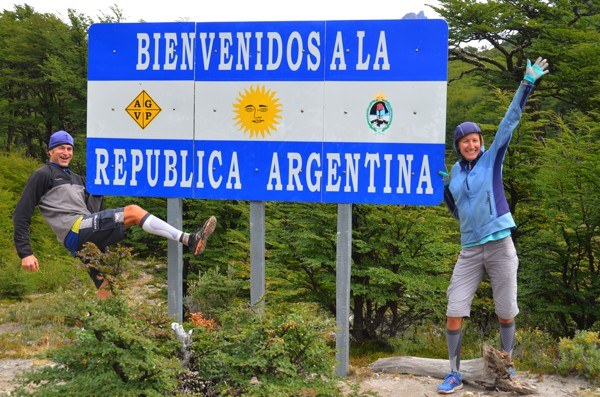 At the Chile-Argentina border.