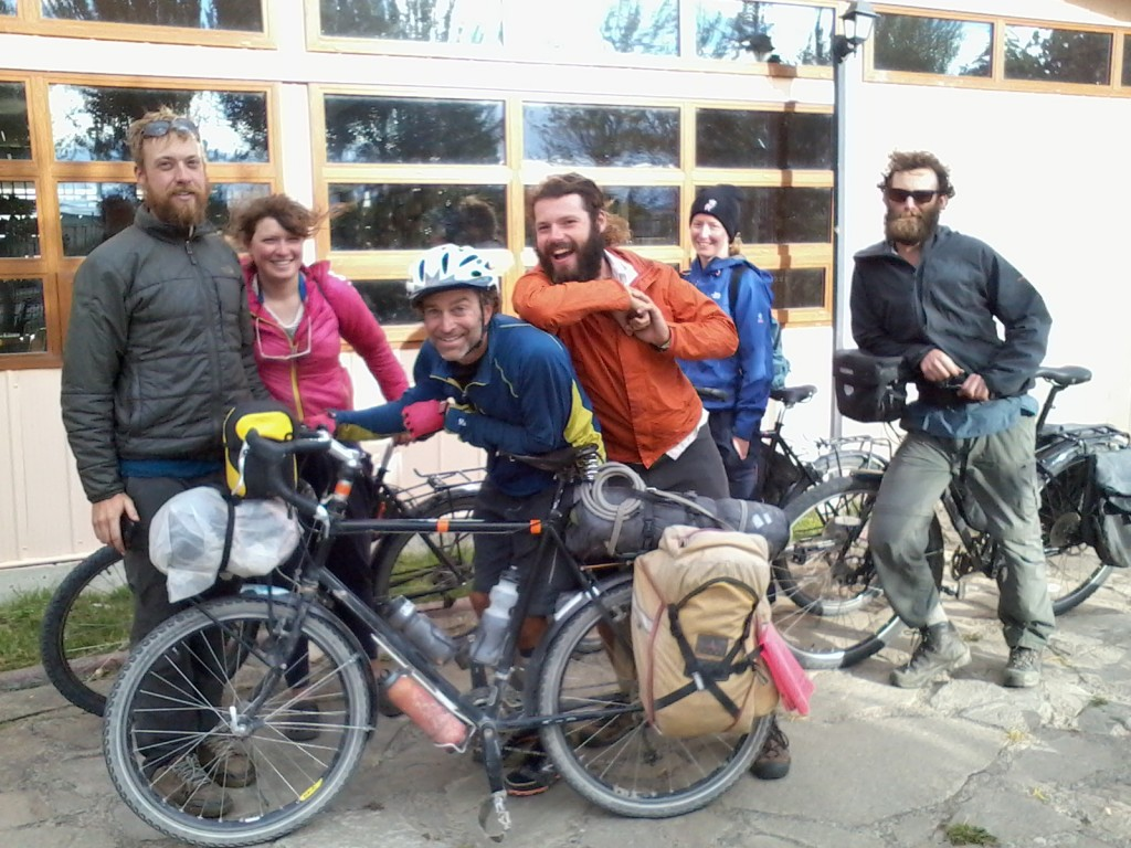 It was also an impressive gathering of Surly bikes, as all seven of us were riding one.