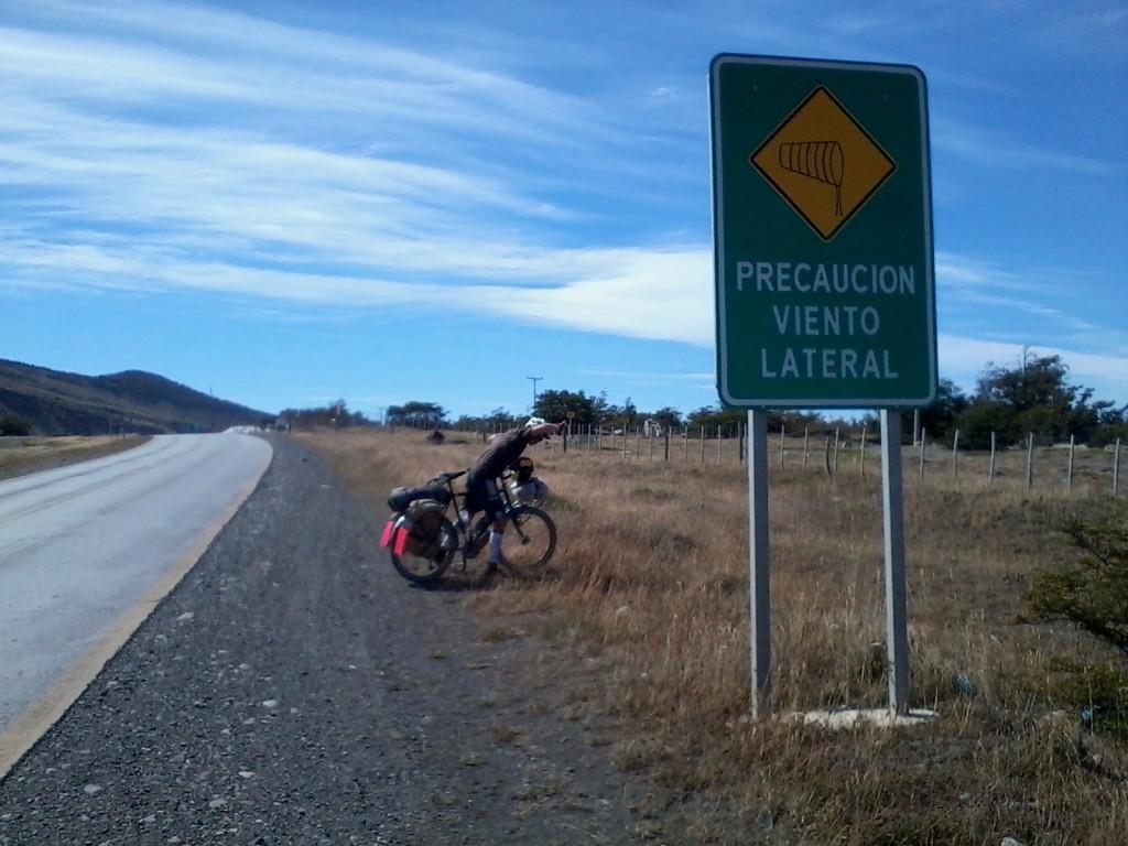 Caution crosswind.