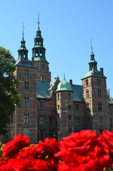 Rosenborg Castle built in 1606.